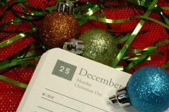 Giorno di Natale Fotografie Stock Libere da Diritti