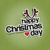 Giorno di Natale felice Immagine Stock