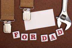 Giorno di padre Immagini Stock