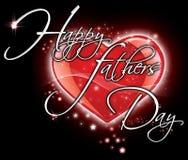Giorno di padri felice Immagini Stock Libere da Diritti