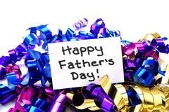 Giorno di padri felice fotografia stock libera da diritti