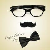 Giorno di padri felice Immagini Stock