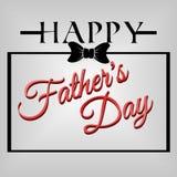 Giorno di padri felice del fondo Fotografie Stock