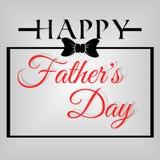 Giorno di padri felice del fondo Immagine Stock