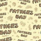 Giorno di padri senza cuciture royalty illustrazione gratis