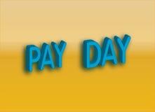 Giorno di paga Immagine Stock Libera da Diritti