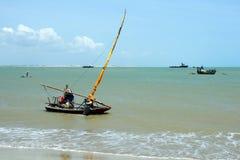 Giorno di pesca Fotografia Stock