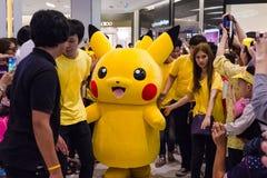 Giorno di Pokemon a Bangkok, Tailandia Immagini Stock Libere da Diritti