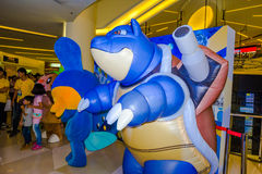 Giorno di Pokemon a Bangkok, Tailandia Fotografie Stock