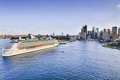 Giorno di Quay della nave del porto di Sy Fotografia Stock Libera da Diritti
