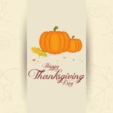 Giorno di ringraziamento Fotografia Stock