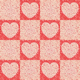 Giorno di s del biglietto di S. Valentino `` - cuori - involucro Fotografie Stock Libere da Diritti