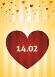 Giorno di S. Valentino Fotografie Stock