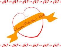 Giorno di S. Valentino felice Fotografie Stock Libere da Diritti