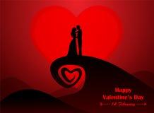 giorno di S. Valentino, nozze Fotografia Stock Libera da Diritti
