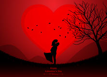 giorno di S. Valentino, nozze Immagini Stock Libere da Diritti