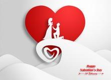 giorno di S. Valentino, nozze Immagini Stock