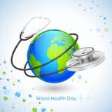 Giorno di salute di mondo Fotografia Stock Libera da Diritti