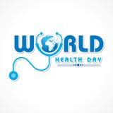 Giorno di salute di mondo Fotografie Stock Libere da Diritti