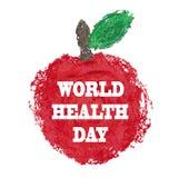 Giorno di salute di mondo Immagini Stock Libere da Diritti