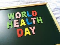 Giorno di salute di mondo Fotografia Stock