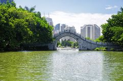 Giorno di Shenzhen Cina del parco di Lizhi fotografie stock