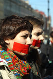 Giorno di silenzio a St Petersburg immagine stock libera da diritti