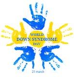 Giorno di sindrome di Down del mondo illustrazione vettoriale