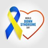 Giorno di sindrome di Down del mondo illustrazione di stock