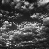 Giorno di sorgente nuvoloso Immagini Stock