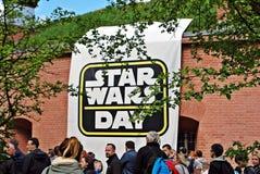 Giorno di Star Wars Fotografia Stock Libera da Diritti