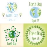 Giorno di terra illustrazione vettoriale