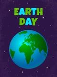 Giorno di terra Immagini Stock Libere da Diritti
