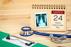 Giorno di tubercolosi di mondo immagini stock libere da diritti