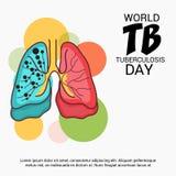 Giorno di tubercolosi di mondo Fotografie Stock Libere da Diritti