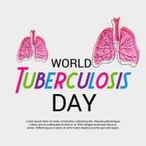 Giorno di tubercolosi di mondo Immagine Stock