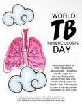 Giorno di tubercolosi di mondo Fotografie Stock