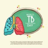 Giorno di tubercolosi di mondo Fotografia Stock