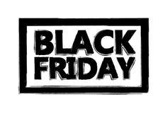 Giorno di vendita di Black Friday Illustrazione di vettore di Black Friday Illustrazione Vettoriale