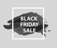 Giorno di vendita di Black Friday Illustrazione di vettore di Black Friday Illustrazione di Stock