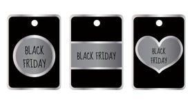Giorno di vendita di Black Friday Illustrazione di vettore di Black Friday Fotografie Stock Libere da Diritti