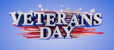 Giorno di veterani Fotografie Stock Libere da Diritti