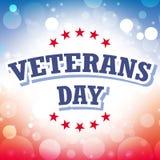 Giorno di veterani Fotografia Stock Libera da Diritti