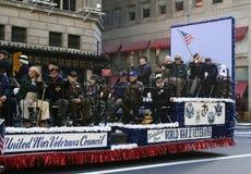 Giorno di veterani di onori di NYC Fotografia Stock Libera da Diritti