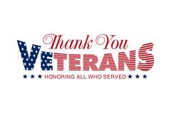 Giorno di veterani Onorando tutti che serviscano fotografie stock libere da diritti