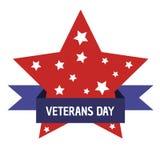 Giorno di veterani Onorando tutti che serviscano Stelle Fotografie Stock Libere da Diritti