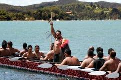 Giorno di Waitangi e festival - festa nazionale 2013 della Nuova Zelanda immagini stock