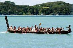 Giorno di Waitangi e festival - HOL del pubblico della Nuova Zelanda immagini stock libere da diritti