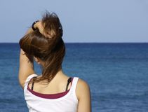 Giorno difettoso dei capelli immagini stock