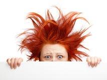 Giorno difettoso dei capelli Fotografia Stock Libera da Diritti
